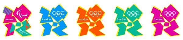 logos colores londres 2012